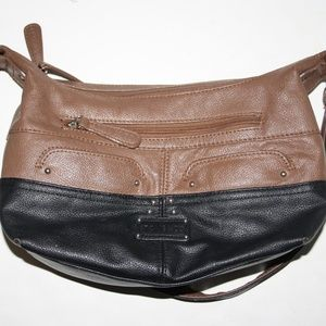Stone & Co Black and Brown Purse